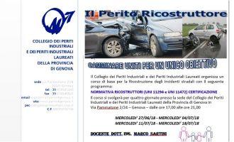 Corso Ricostruzione incidenti stradali