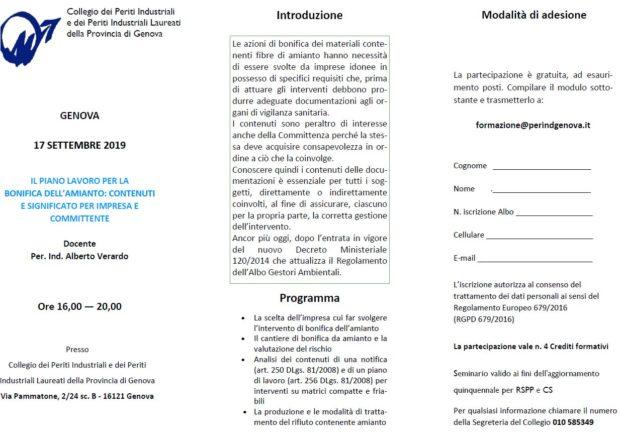 Il Piano lavoro per la bonifica dell'amianto: contenuti e significato per impresa e committente