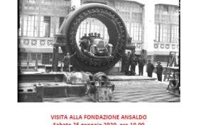 Fondazione Ansaldo – visita guidata il 25/01/2020